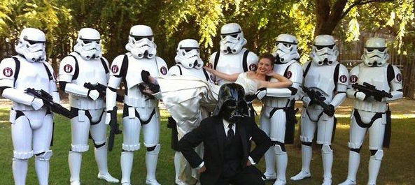 Are These The Vows You Re Looking For Star Wars Wedding Asheville