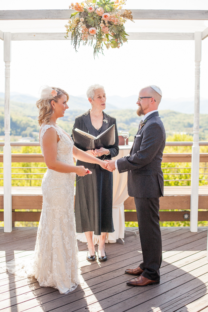 wedding officiant asheville