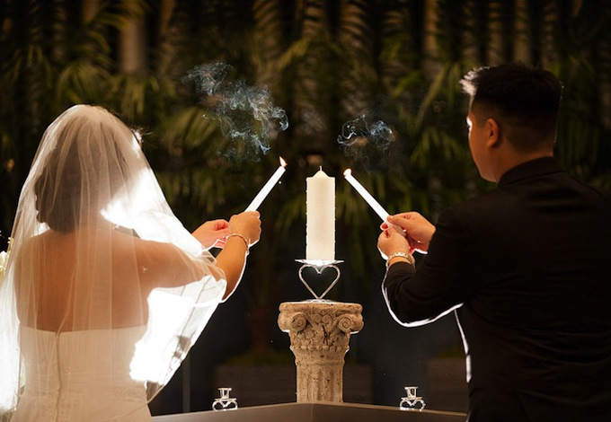 Candle Lighting For Wedding Ceremony Image Antique And